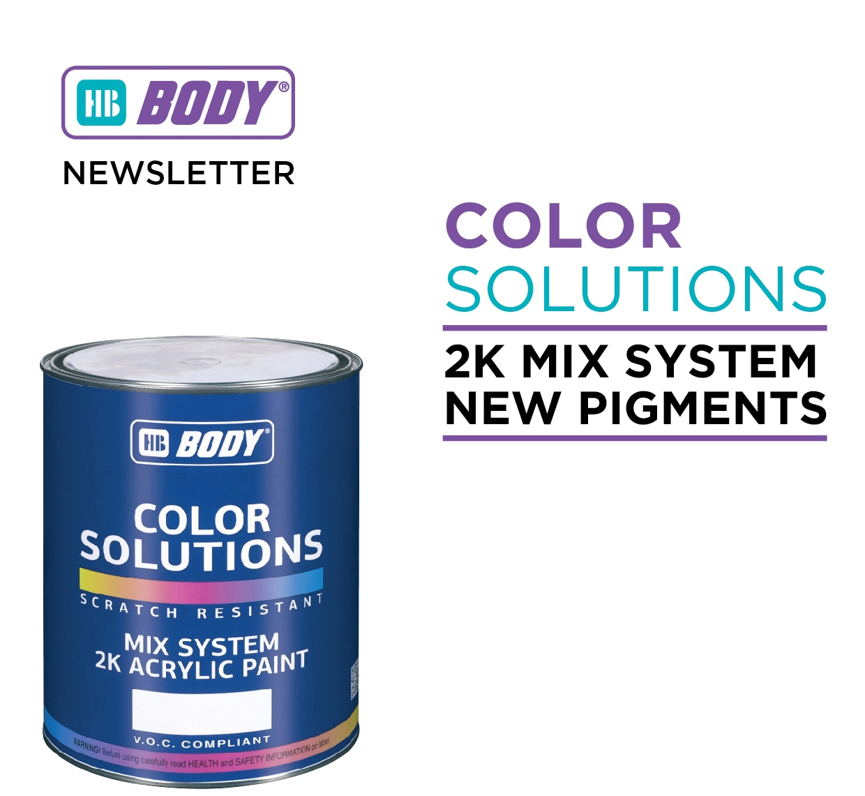 HB BODY COLOR SOLUTIONS 2K MIX